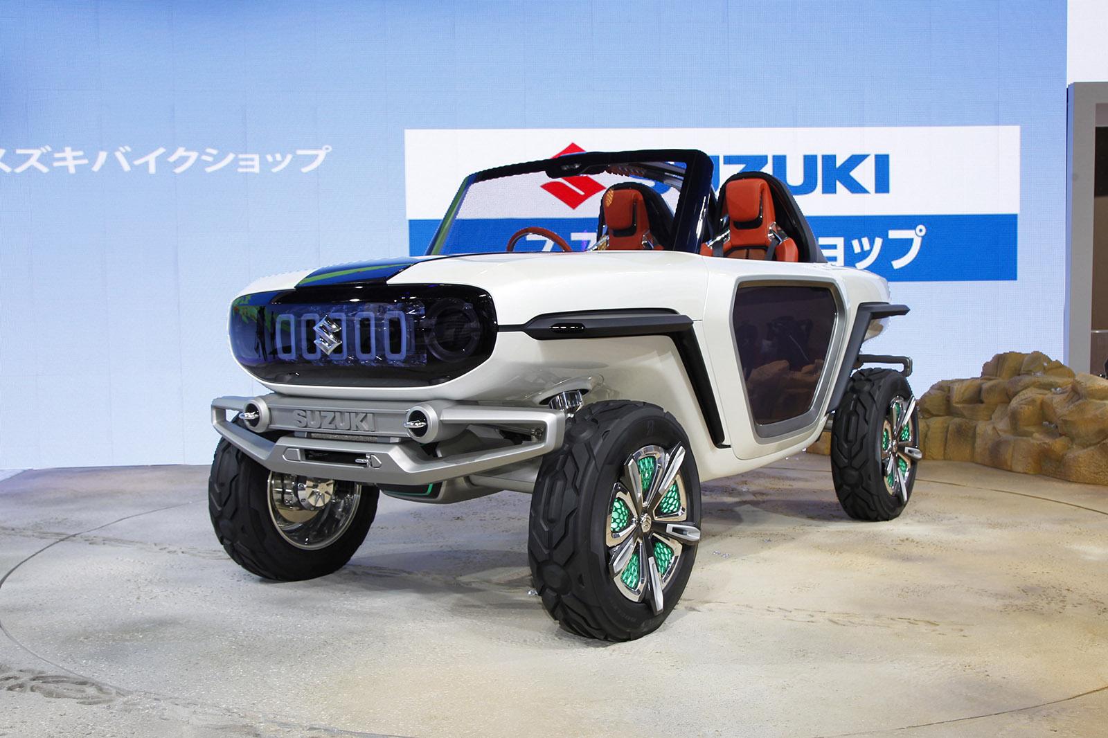 Концепт Suzuki e-Survivor показал кто выживет в далеком будущем