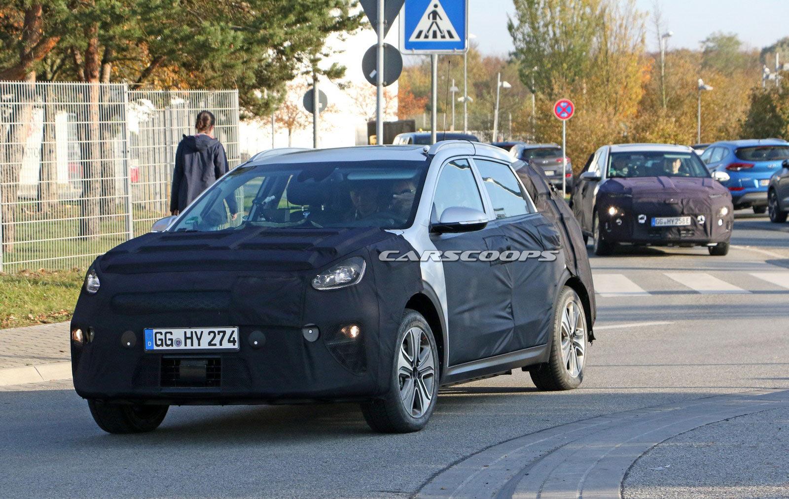 KIA Niro EV уже тестируют на дорогах общего пользования