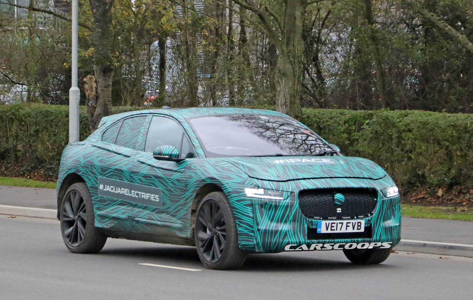 Электрический Jaguar I-Pace готов посрамить Tesla Model X
