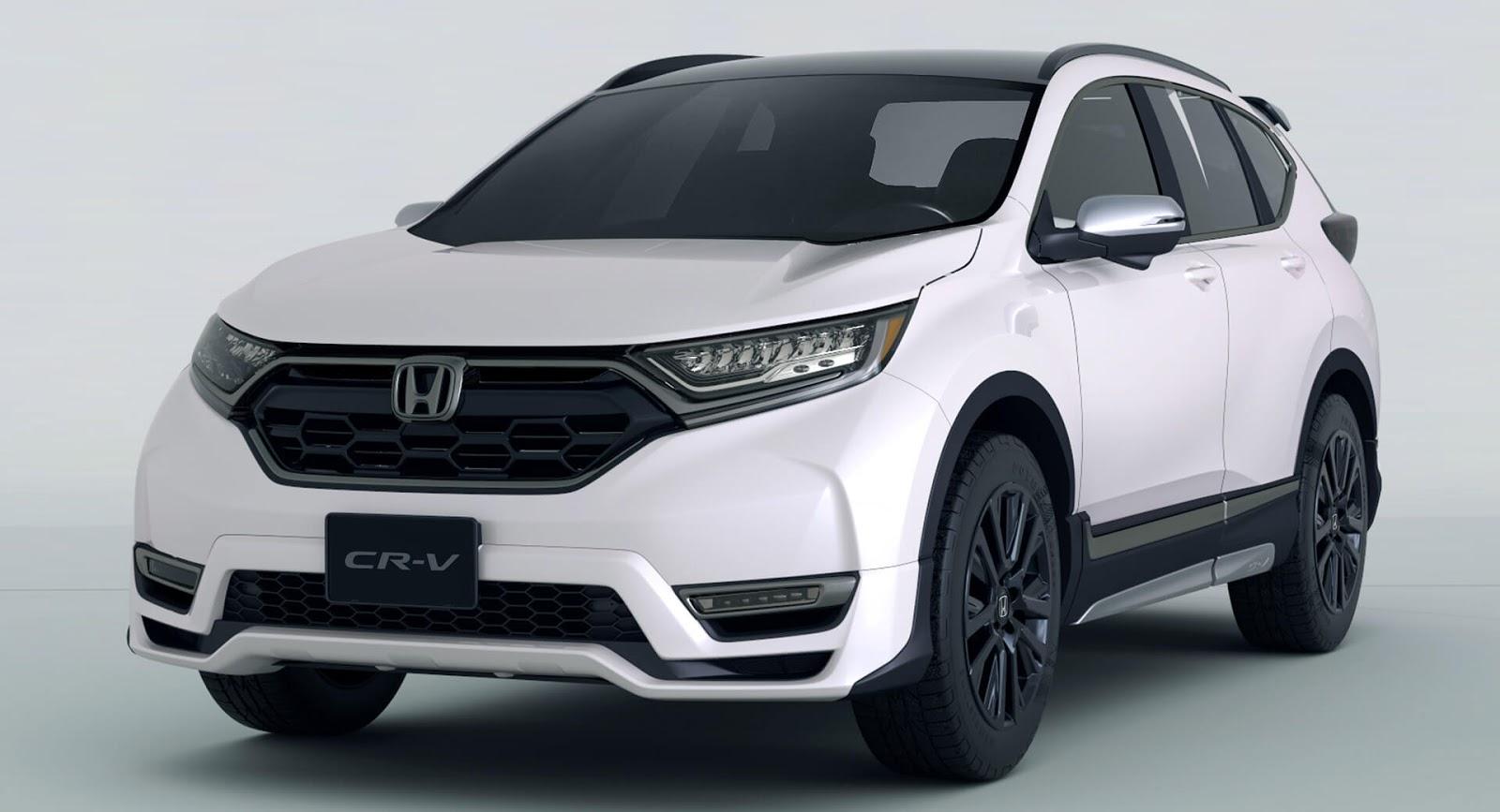 Спортивный кроссовер CR-V Custom Concept представит Хонда вТокио