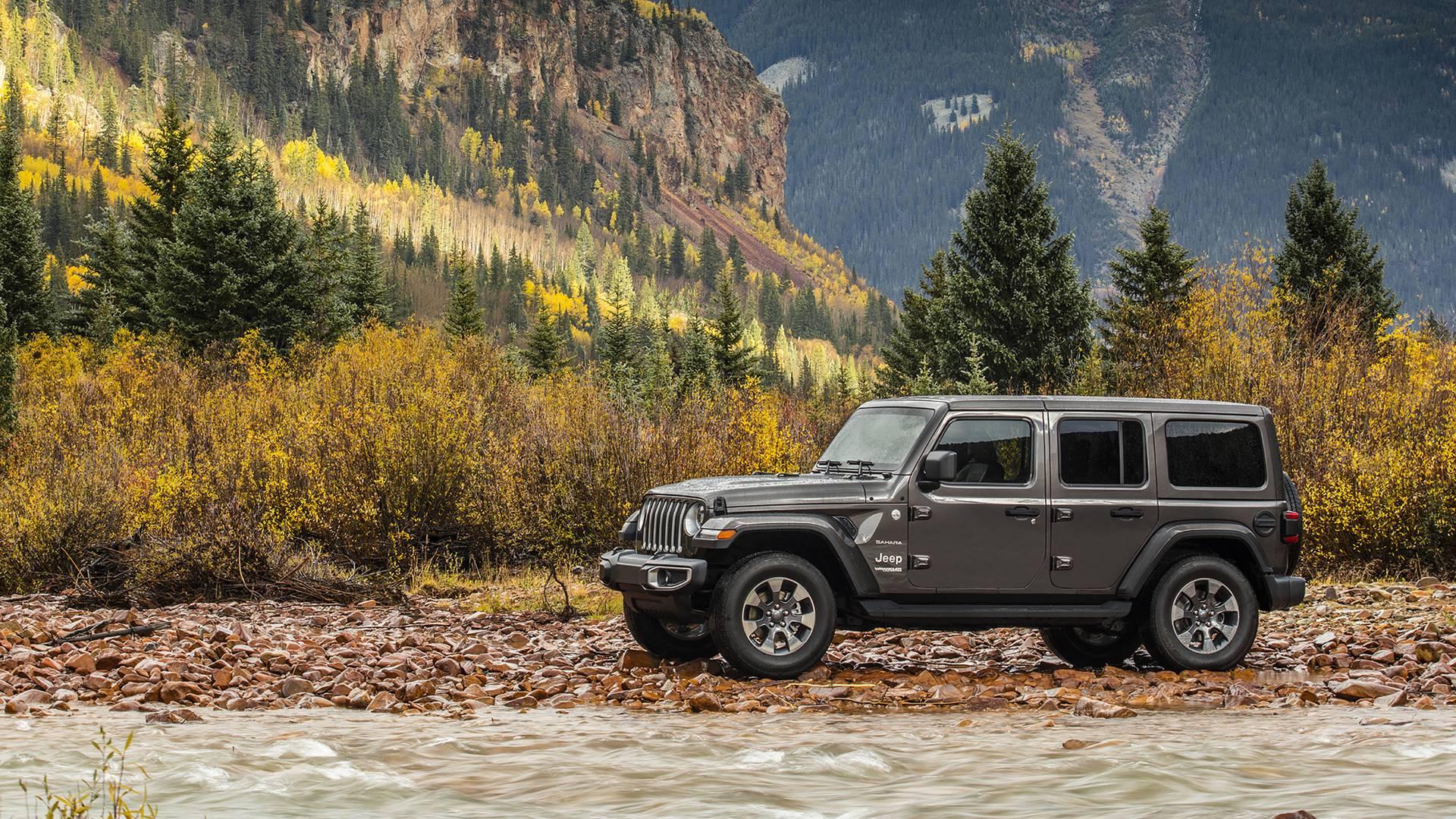 Jeep Wrangler 2018 — фотогалерея
