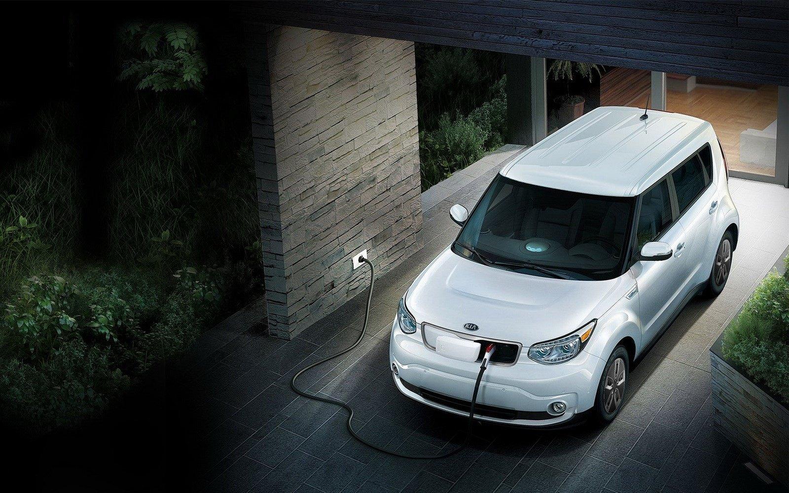 KIA увеличил емкость батареи электрического Soul EV
