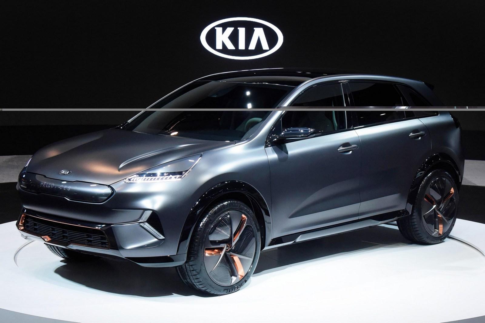 Электромобиль KIA Niro EV представлен официально