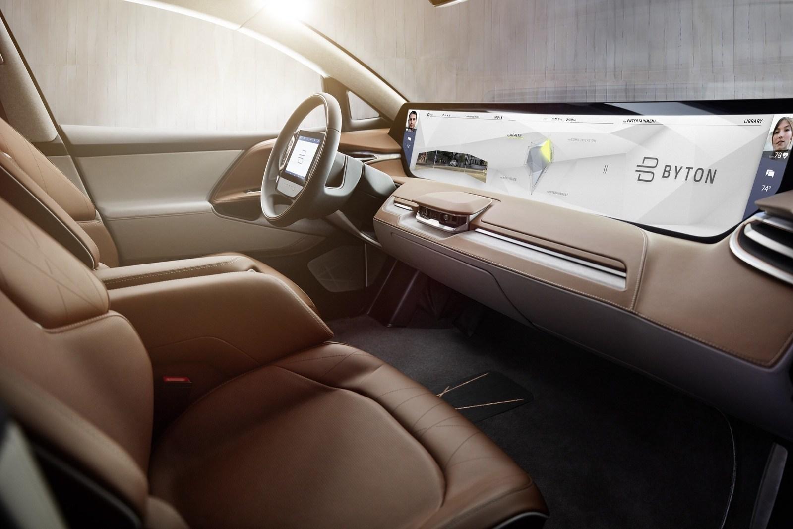 Byton — новое слово в развитии электромобилей