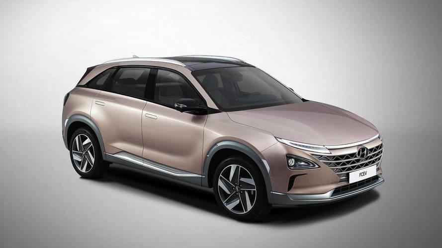 Hyundai анонсировал новейший водородный SUV