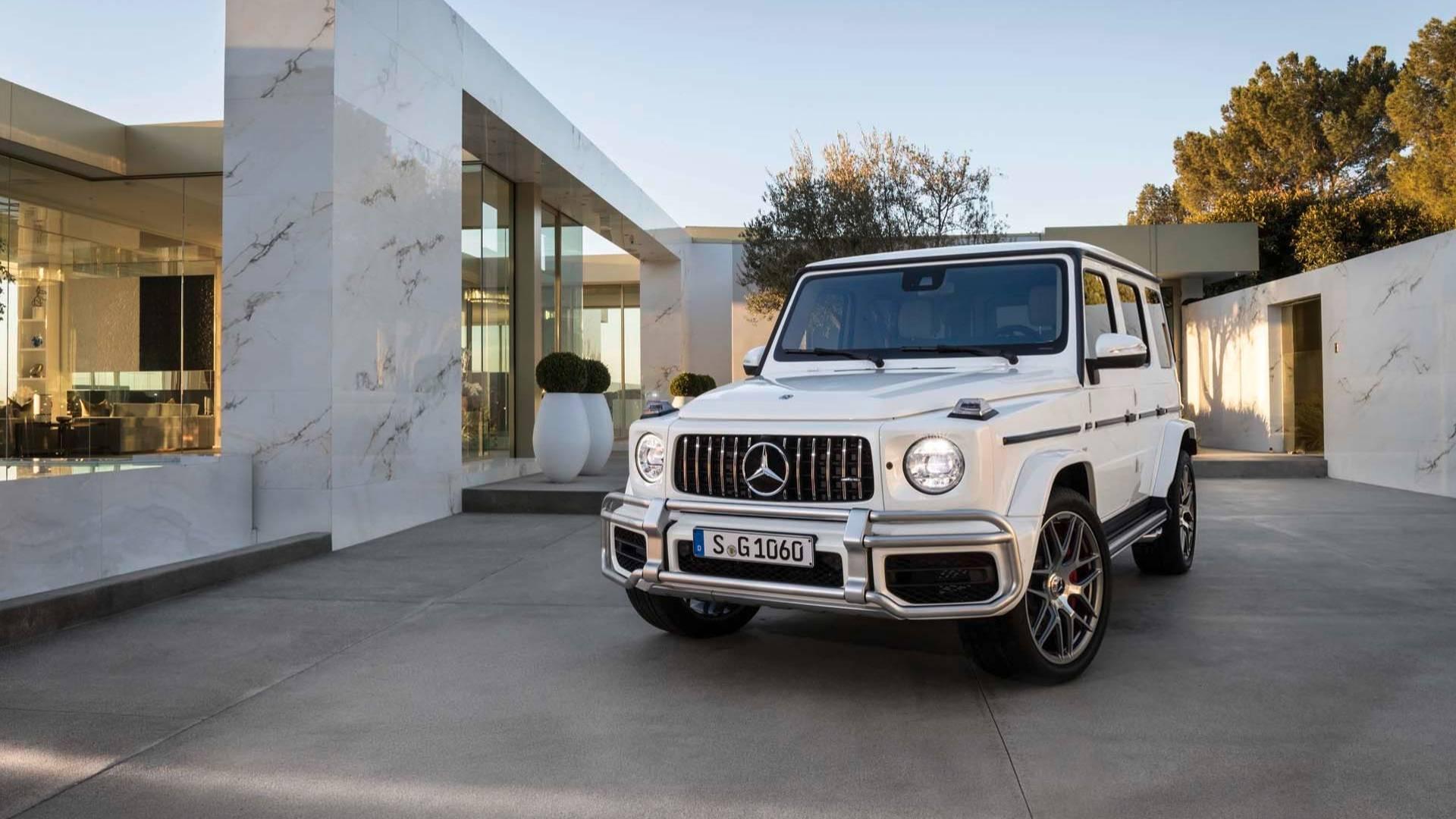 Mercedes-AMG G63 — фотогалерея