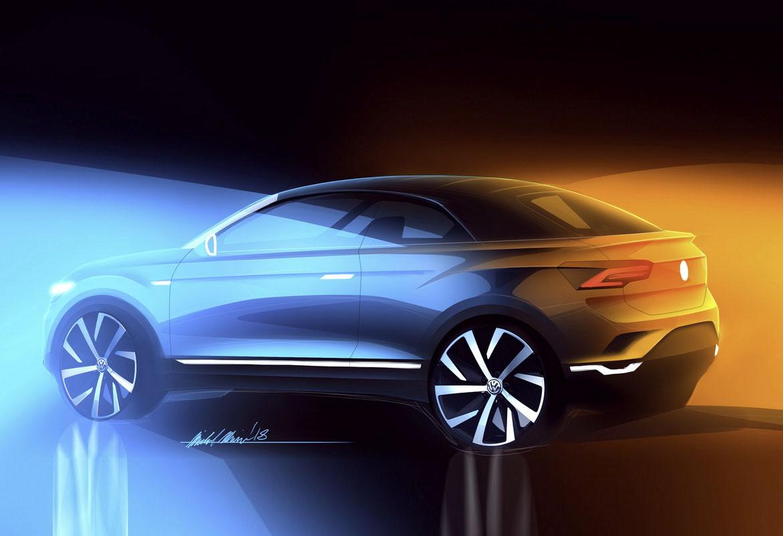 VW превратит модель T-Roc вкабриолет