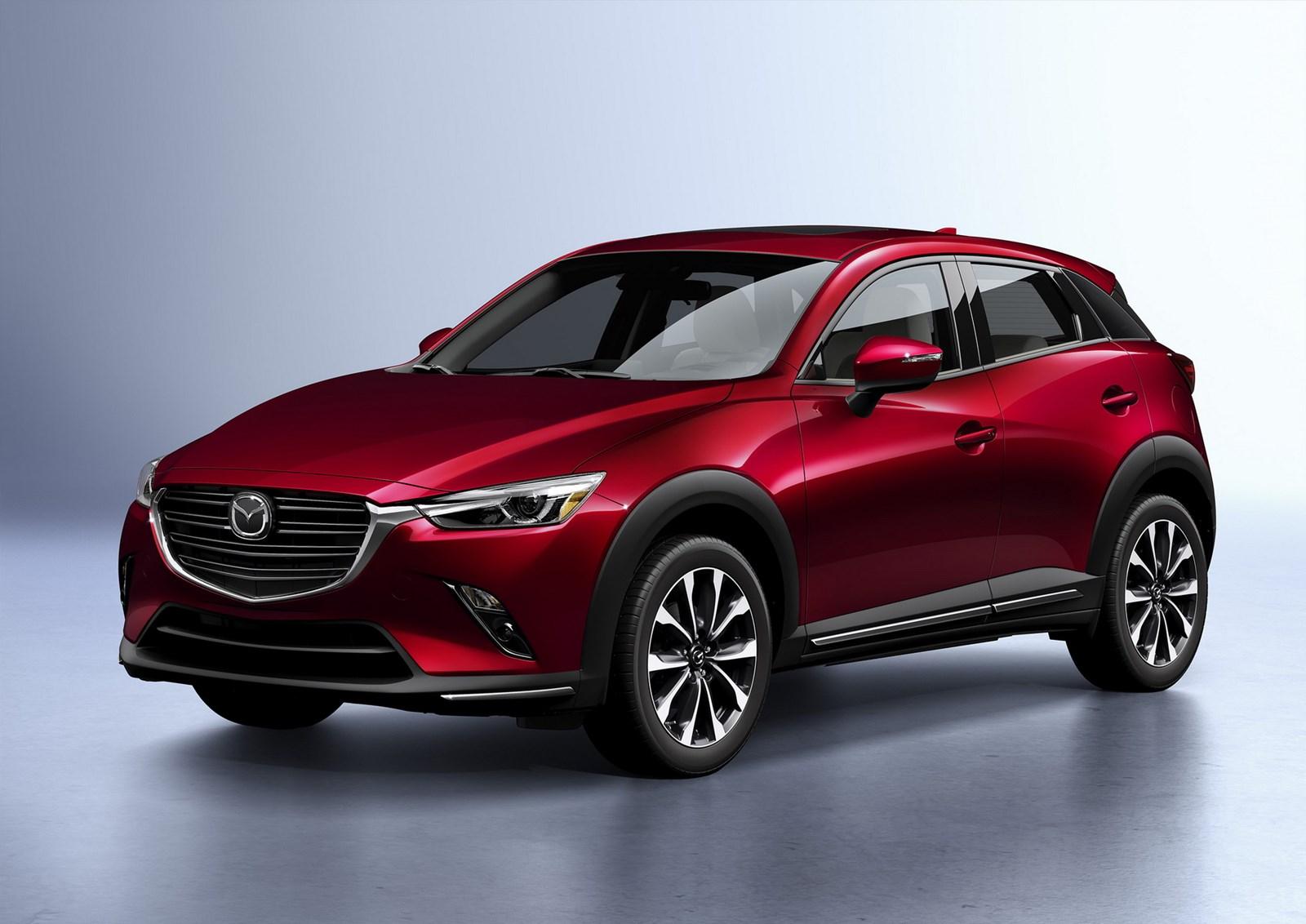 В Нью-Йорке состоится дебют Mazda CX-3 с новым двигателем и интереьером