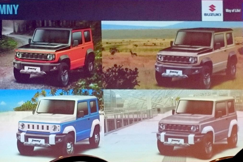 Сузуки привезёт в Российскую Федерацию Jimny обновленного поколения