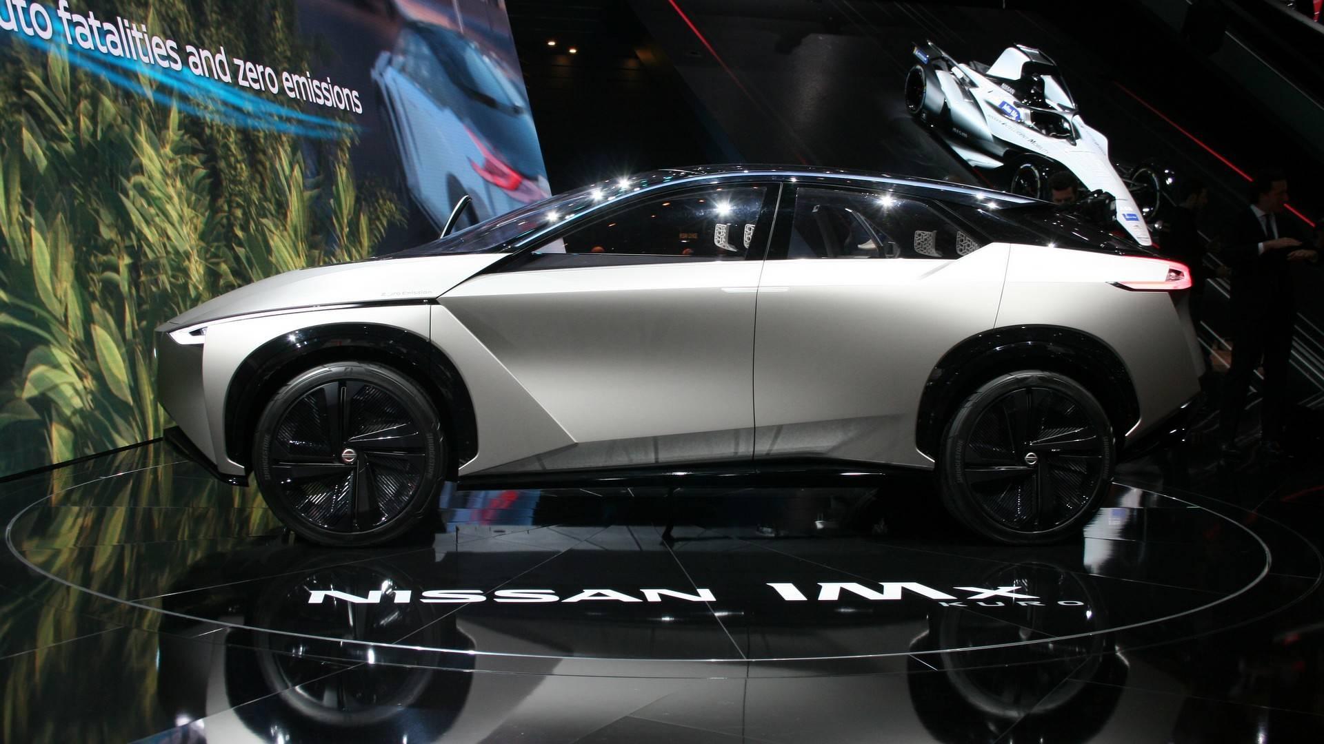 Nissan IMx Kuro продемонстрировали европейской публике