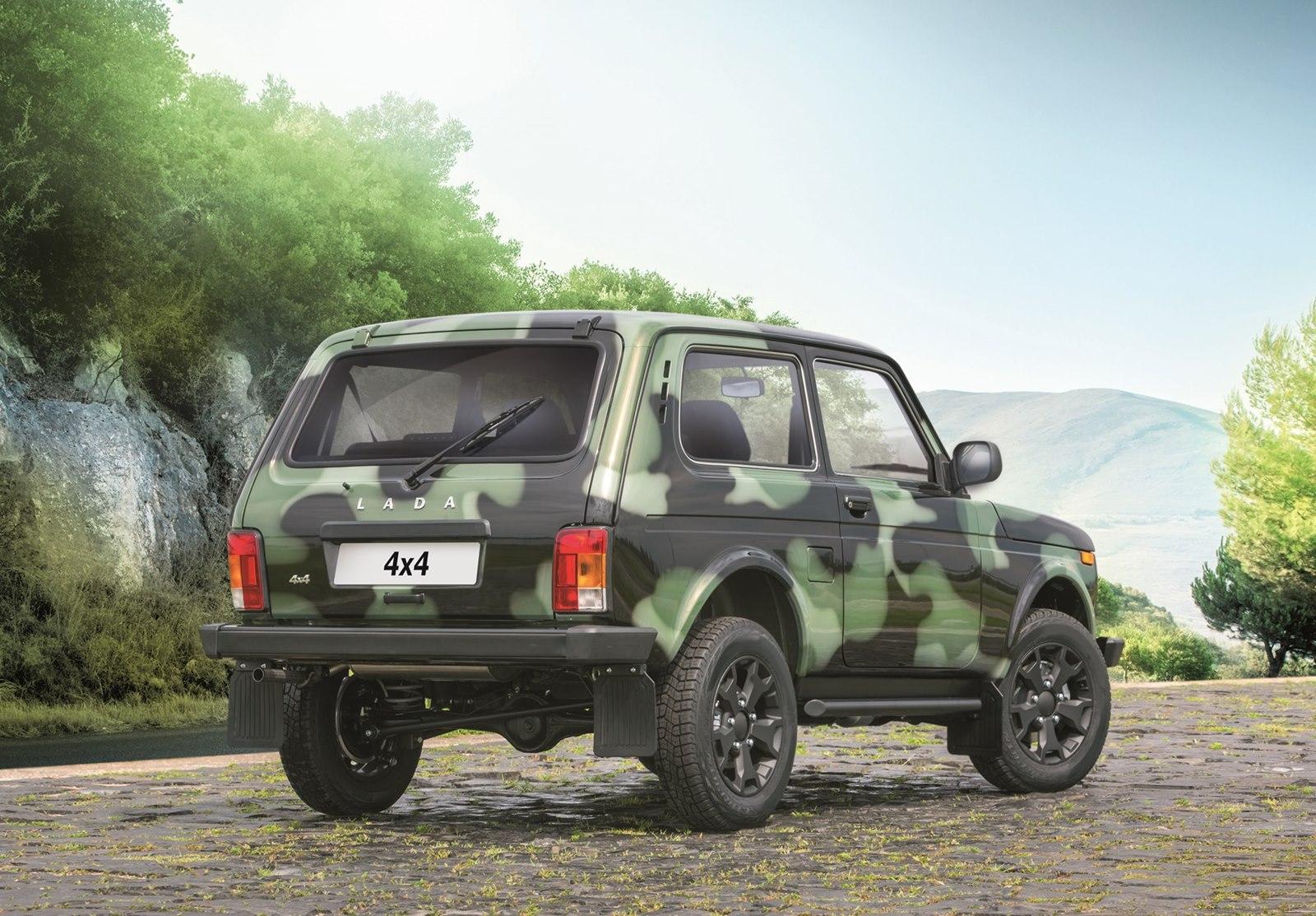 «АвтоВАЗ» добавил джипу Лада 4х4 камуфляжную окраску