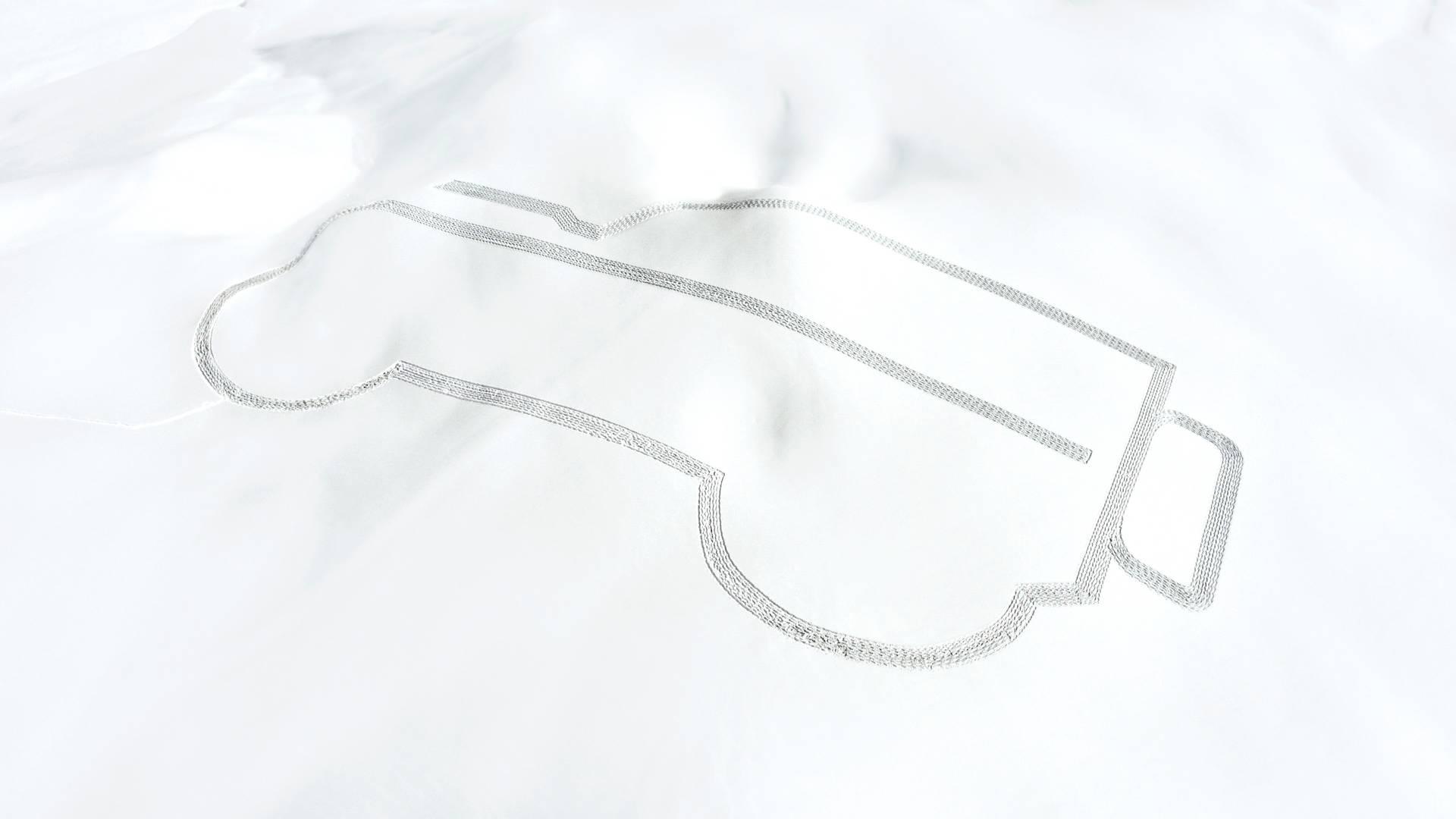 250-метровый Лэнд Ровер  Defender протоптали наснегу вАльпах