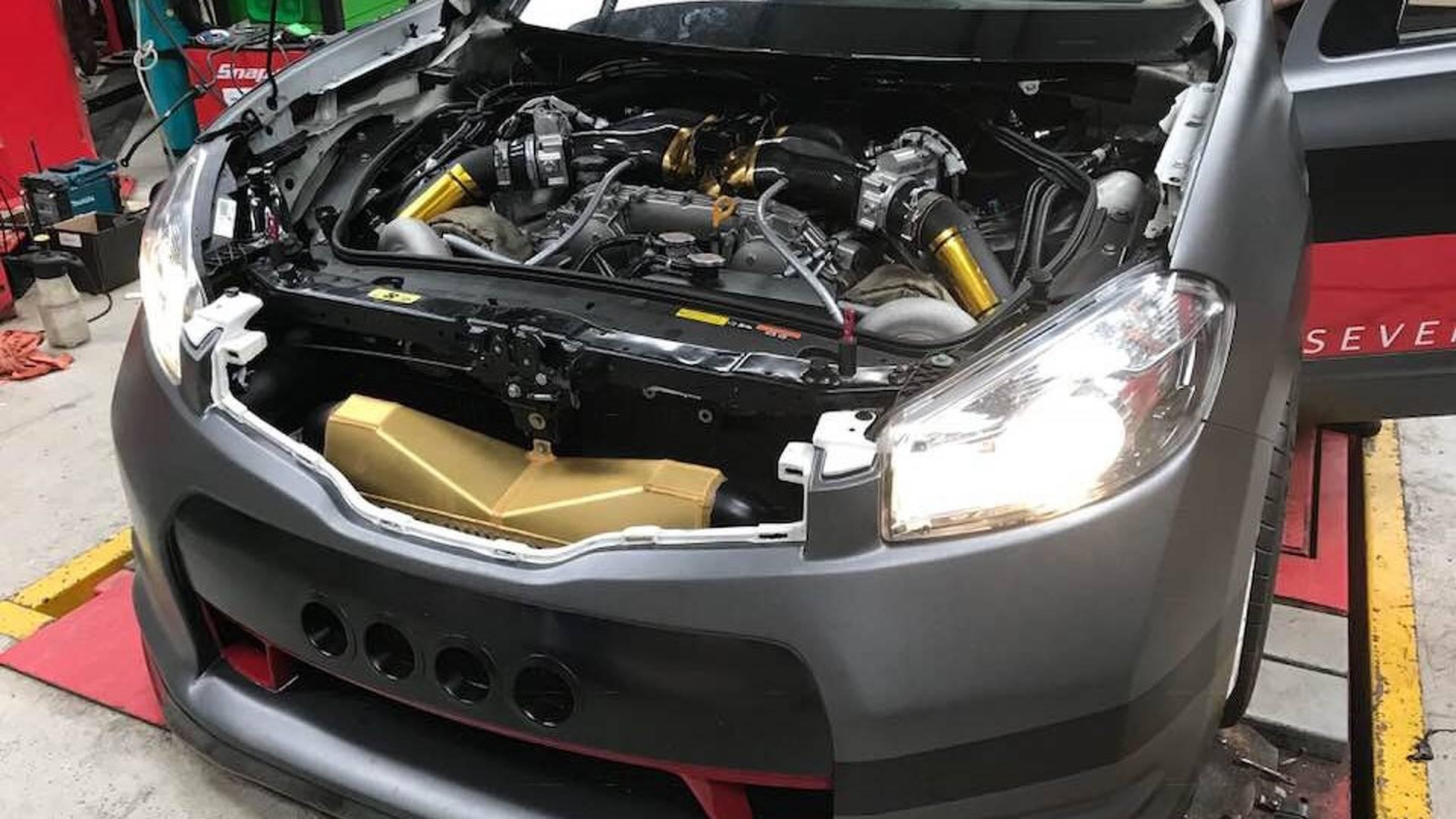 Британские тюнеры представили «заряженные» кроссовер Nissan Qashqai производительностью 2 000 лошадиных сил