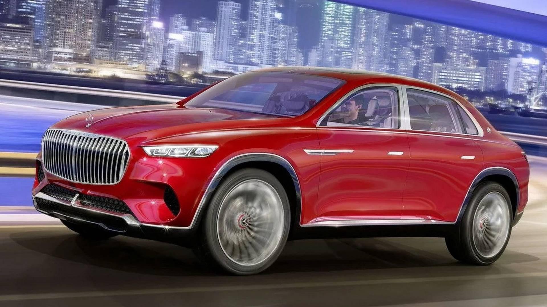 Кроссовер Mercedes-Maybach: четыре электромотора, голосовое управление и«золотые» кресла
