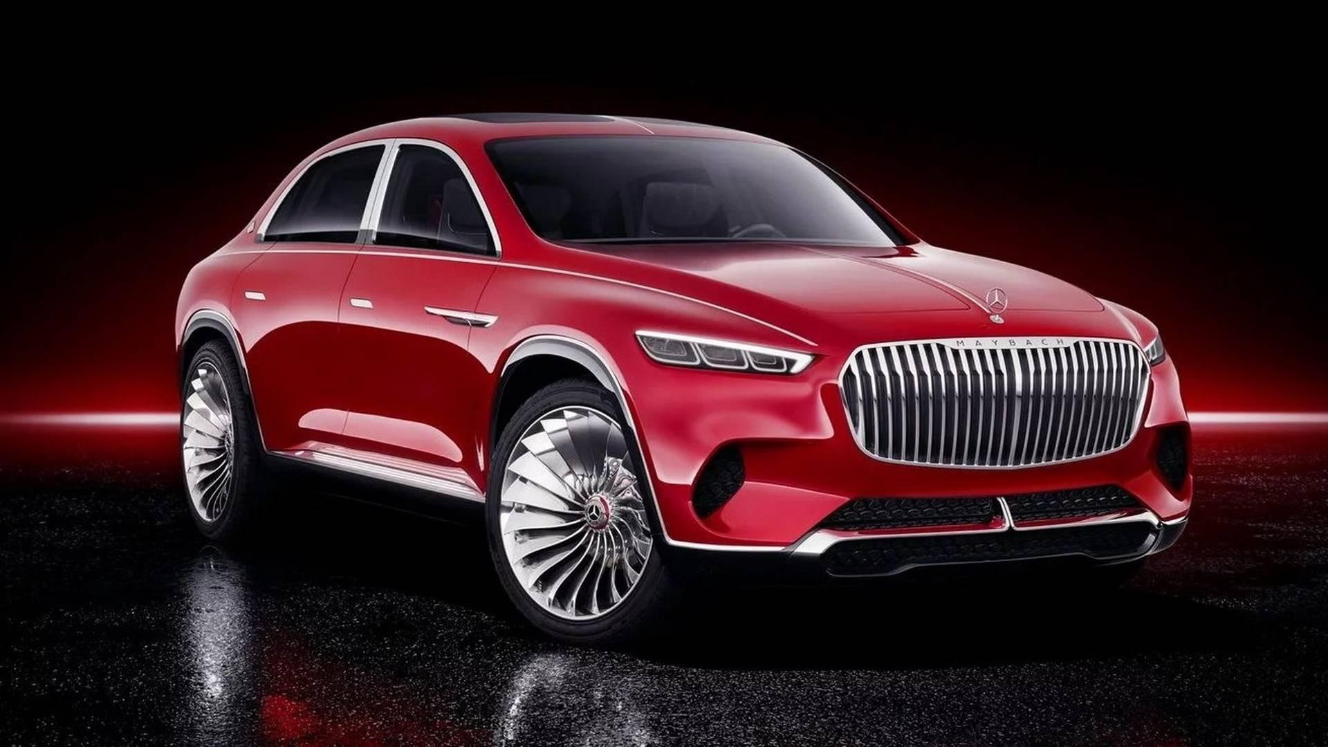 4 электромотора, голосовое управление и«золотые» кресла— Кроссовер Mercedes-Maybach