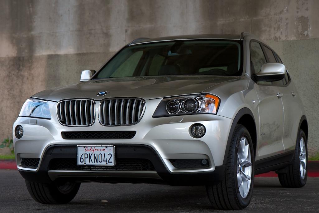 Фотогалерея BMW X3 2012