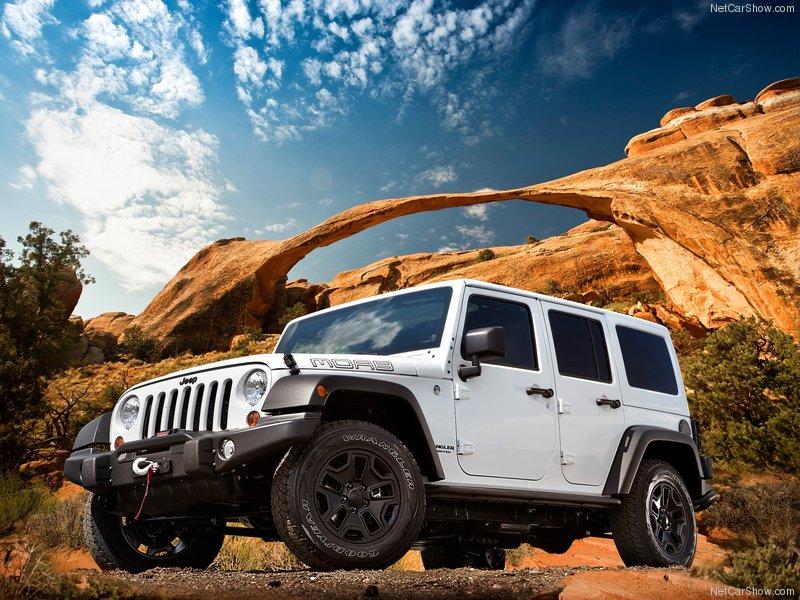 Фотогалерея Jeep Wrangler Unlimited Moab 2013