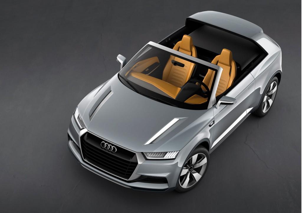 Фотогалерея концепт-кара Audi Crosslane Купе