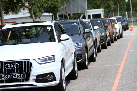 Фотогалерея презентации Audi Q3
