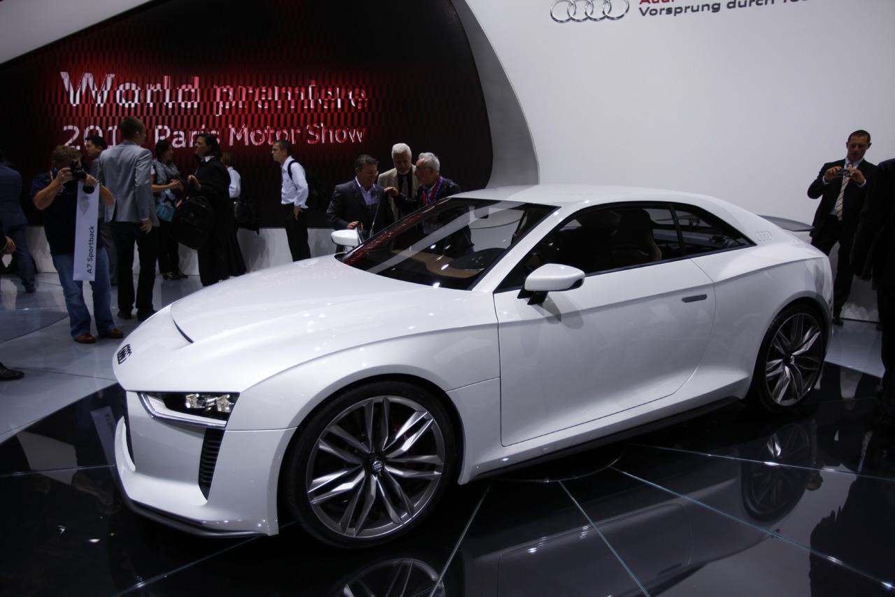 Фотогалерея Audi Quattro Concept 2010