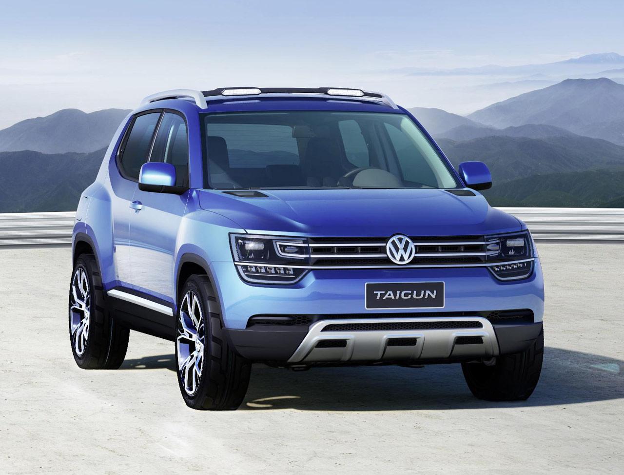 Фото концепт-кара Volkswagen Taigun