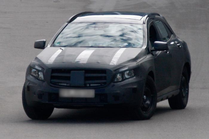 Фотогалерея тест-драйва Mercedes-Benz GLA