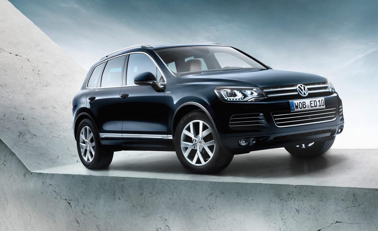 Фотогалерея Volkswagen Touareg Edition X