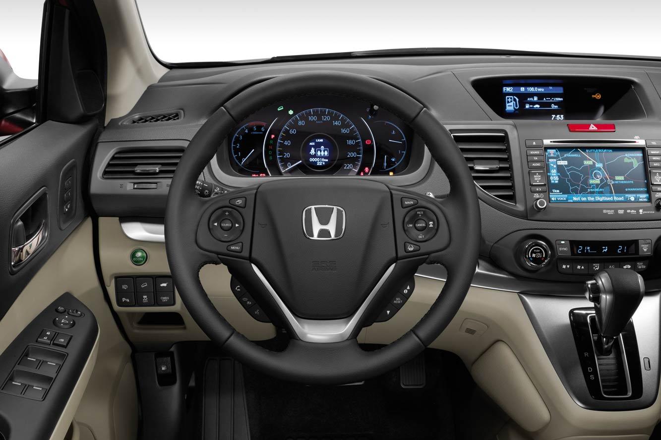 Фото новой Honda CR-V 2013