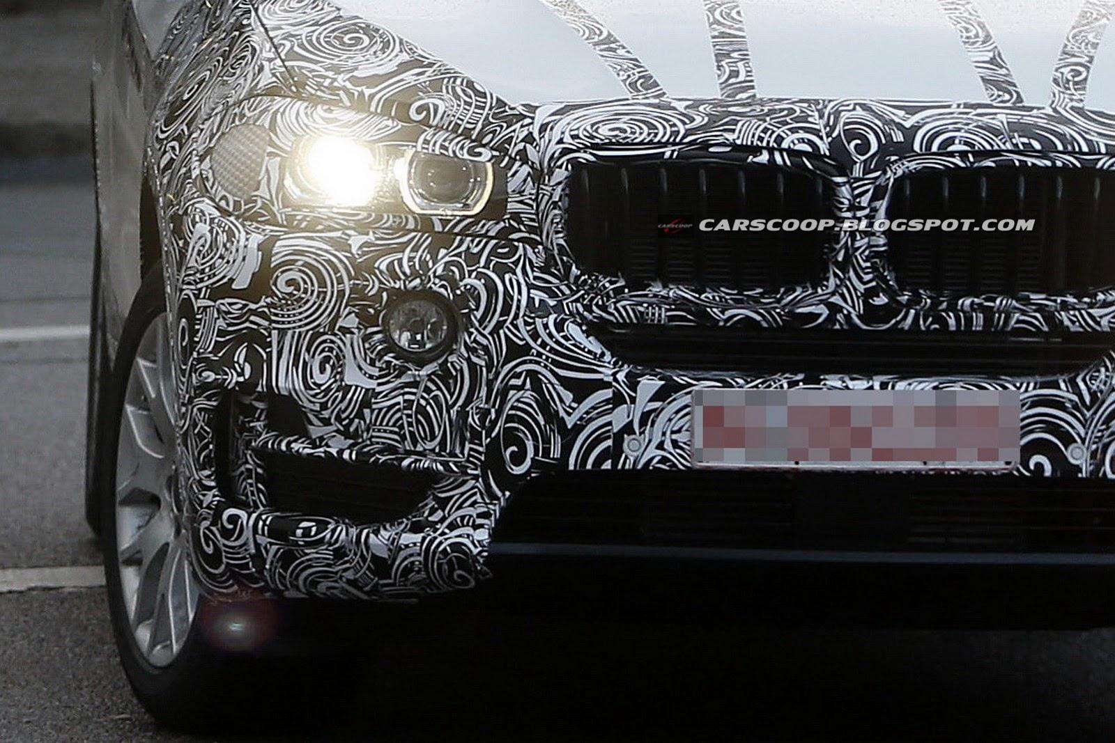 Галерея шпионских фото BMW X5 2014