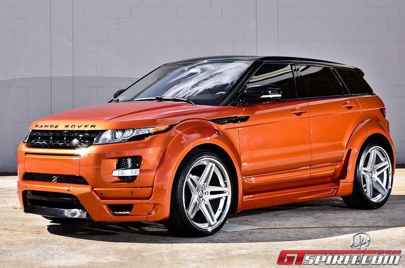 Фотогалерея тюнинга Range Rover Evoque