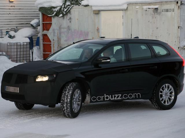 Шпионские фото обновленного Volvo XC60