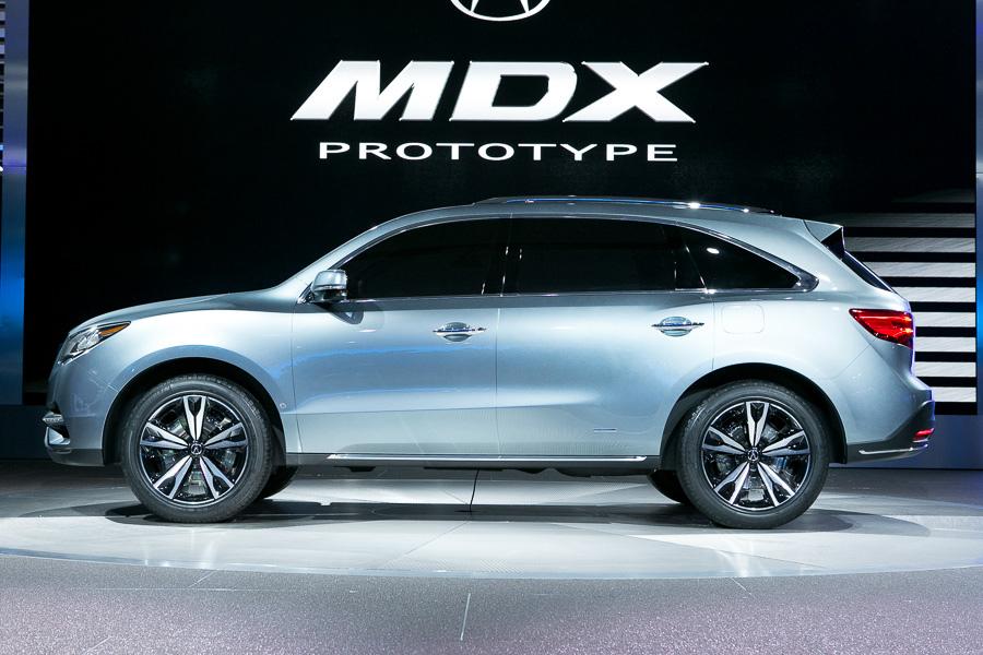 Фотогалерея прототипа Acura MDX 2014