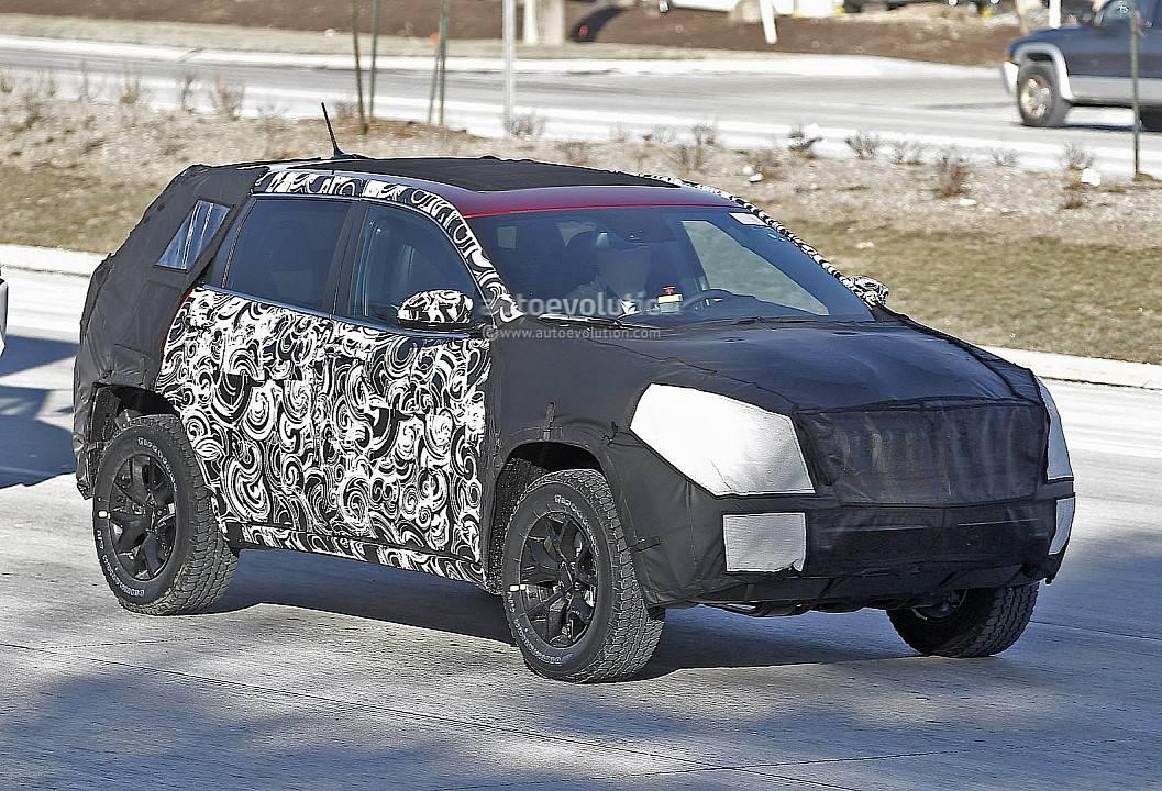 Фотогалерея прототипа Jeep Cherokee 2014