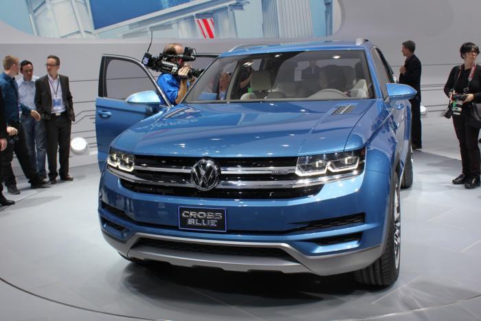 Фотогалерея концепта Volkswagen CrossBlue
