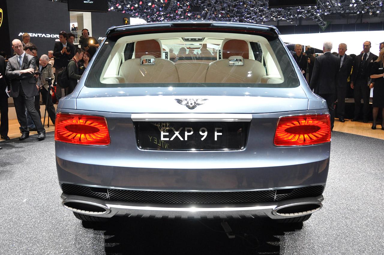 Фотогалерея Bentley EXP 9F на автосалоне в Женеве 2012
