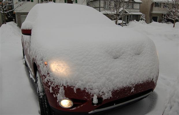 Фотогалерея снежного тест-драйва Nissan Pathfinder 2013