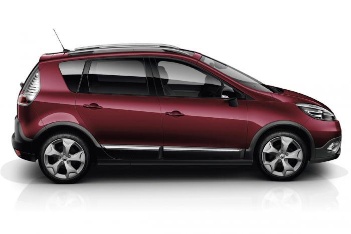 Фотогалерея нового Renault Scenic XMOD