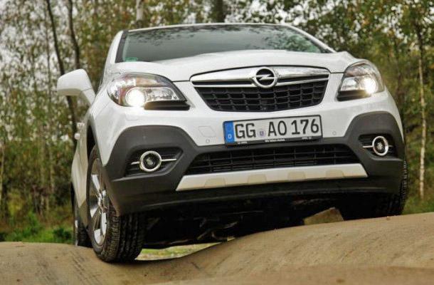Opel Mokka получил увеличенный клиренс