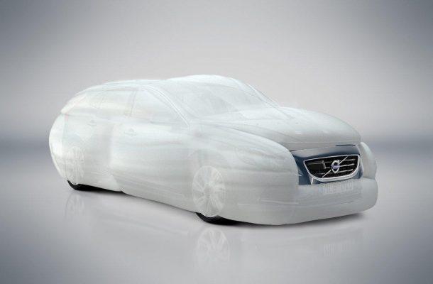 Внешняя подушка безопасности Volvo - 1