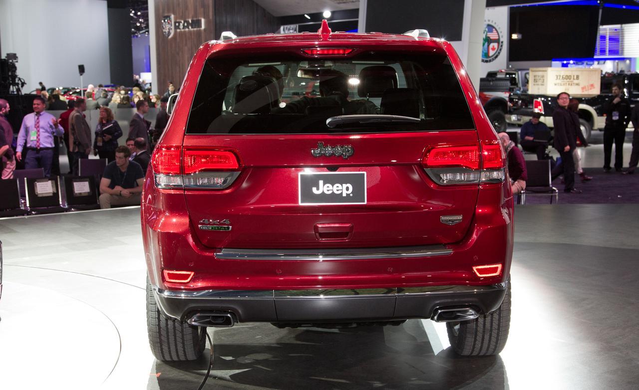 Jeep Grand Cherokee 2014 — фотогалерея