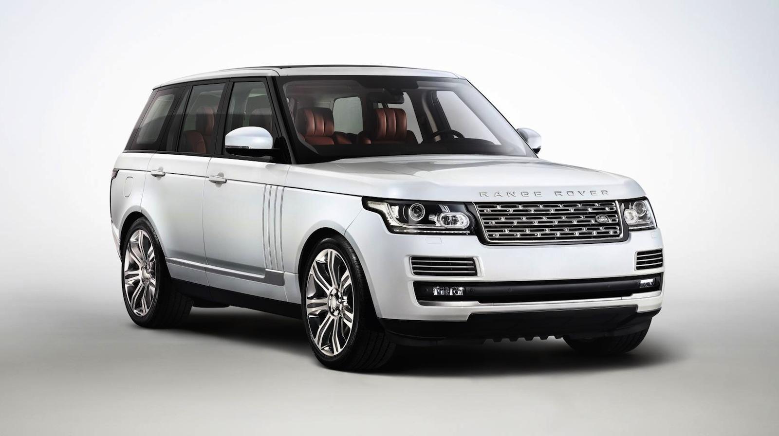 Длиннобазный Range Rover — фотогалерея