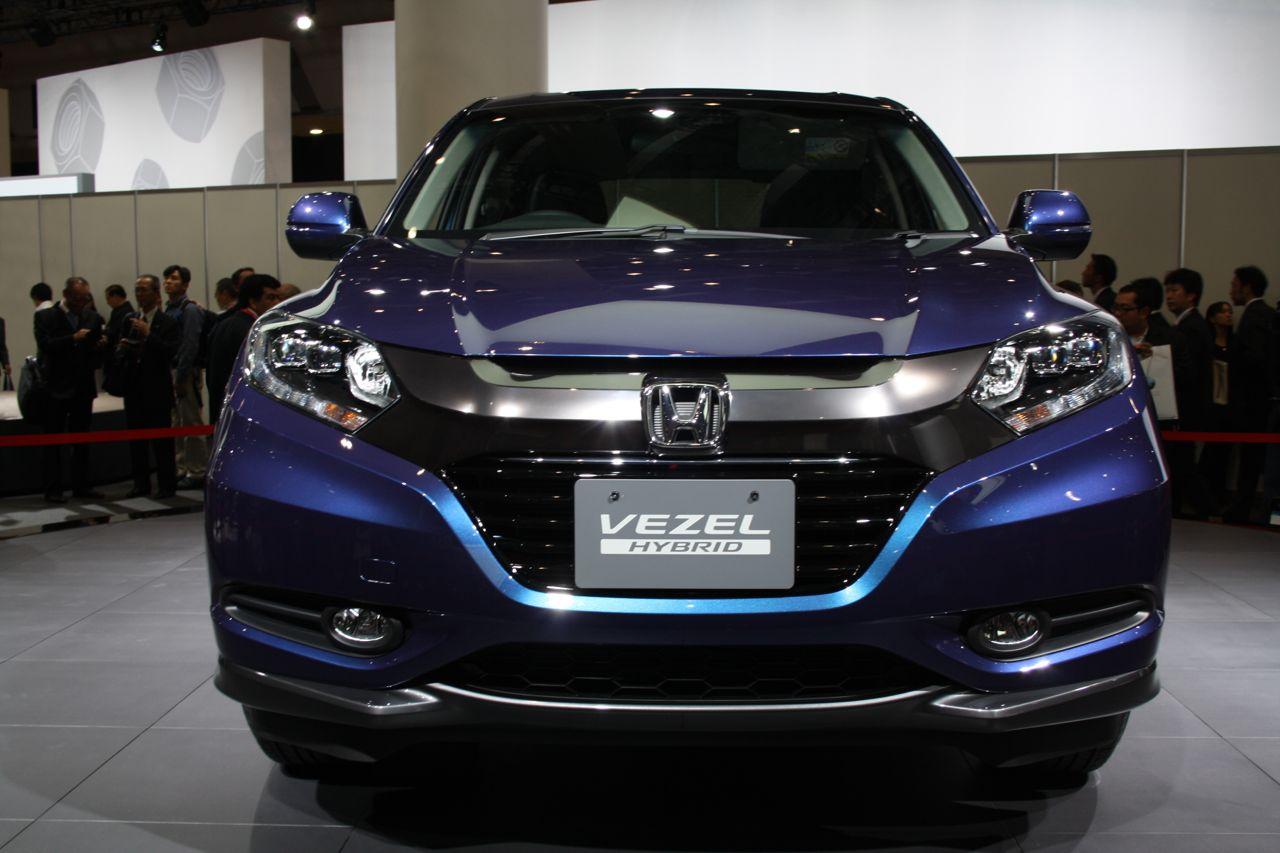 Honda Vezel — фотогалерея с презентации