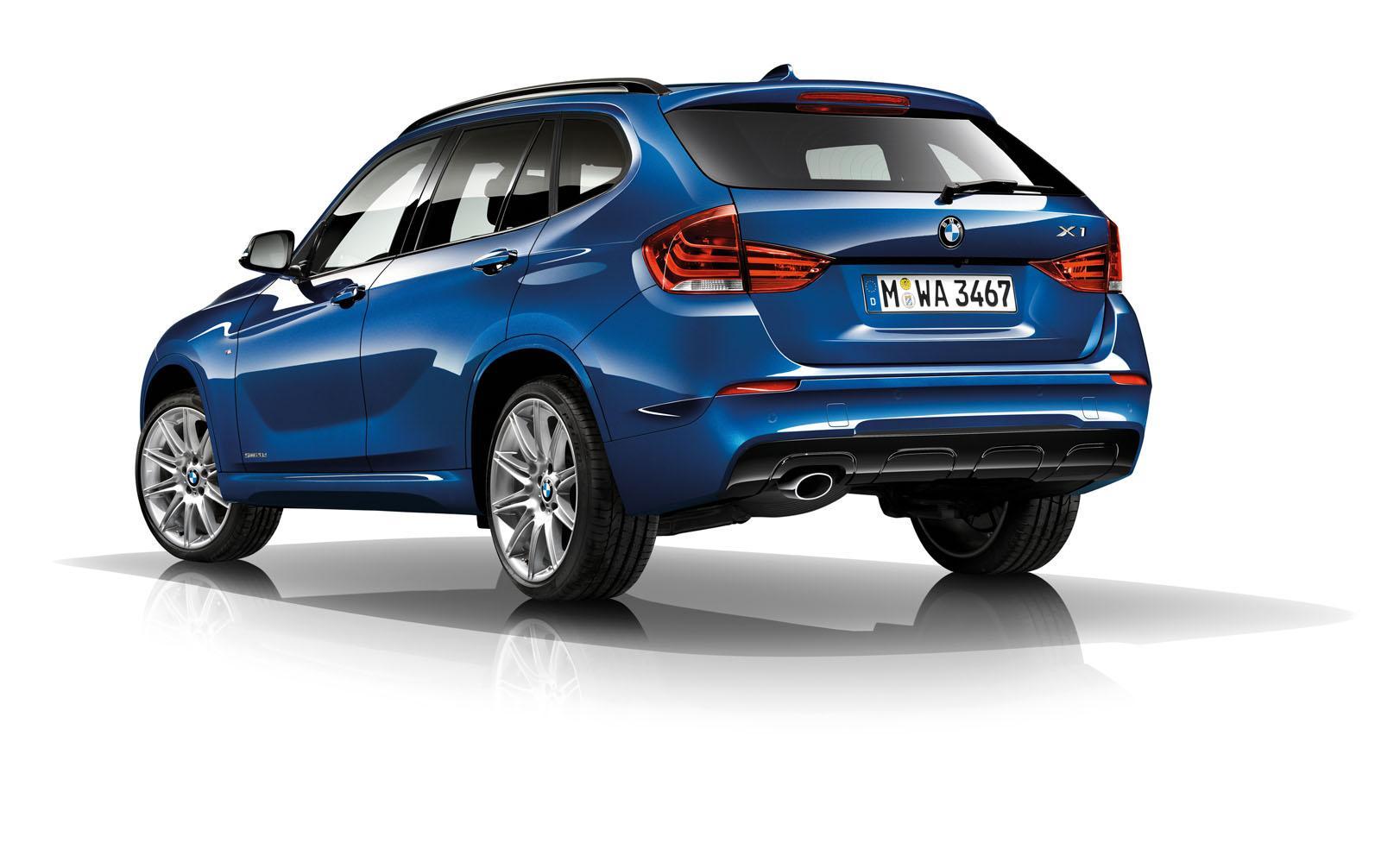 BMW X1 2014 — фотогалерея обновленного кроссовера