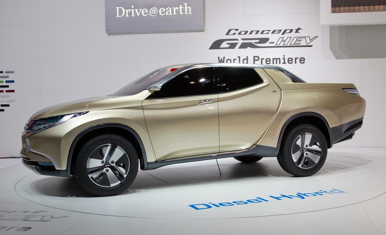 концепт кар l-200 mitsubishi