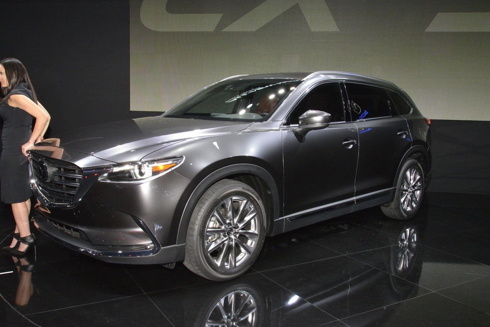 Новое поколение Mazda CX-9 появится в 2013 году