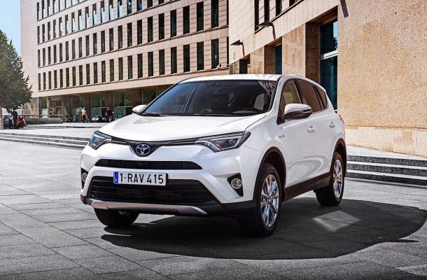 Озвучена цена гибридного <b>Toyota RAV4</b> Hybrid