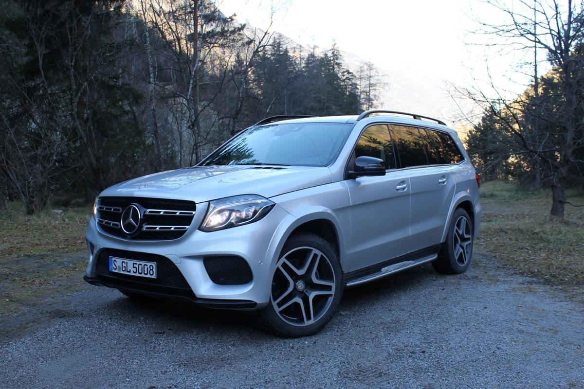 Mercedes-Benz GLS — фотогалерея