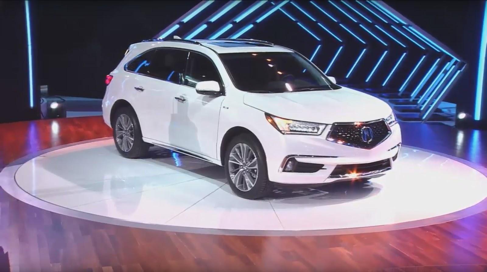 Acura MDX 2017 — «живые» фото с презентации