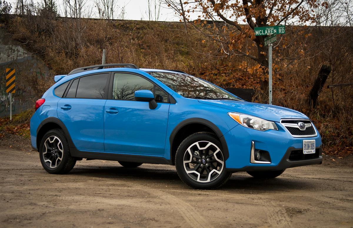 Обновленная Subaru XV появится в России в марте