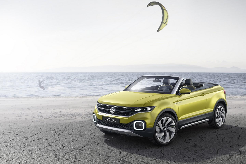 Volkswagen T-Cross Breeze — фотогалерея